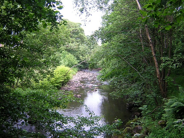 Glazert Water, Milton of Campsie