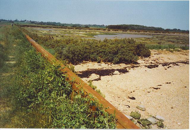 Sea Wall at Thistly Creek.