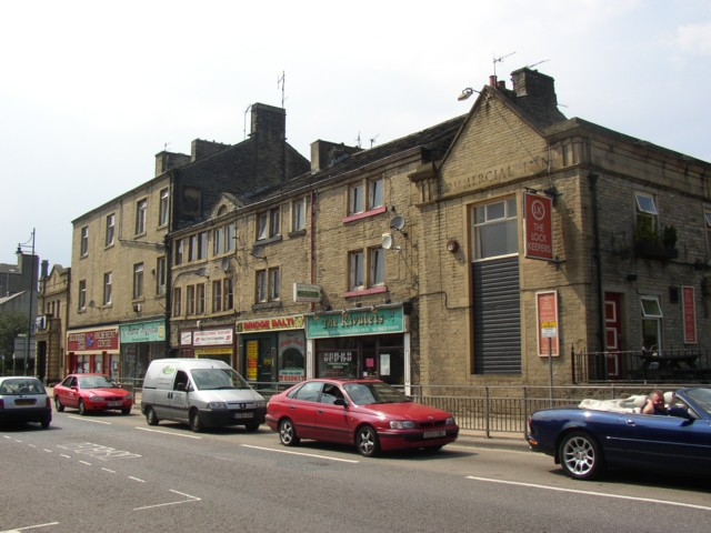 Row of shops, Wharf Street, Sowerby Bridge