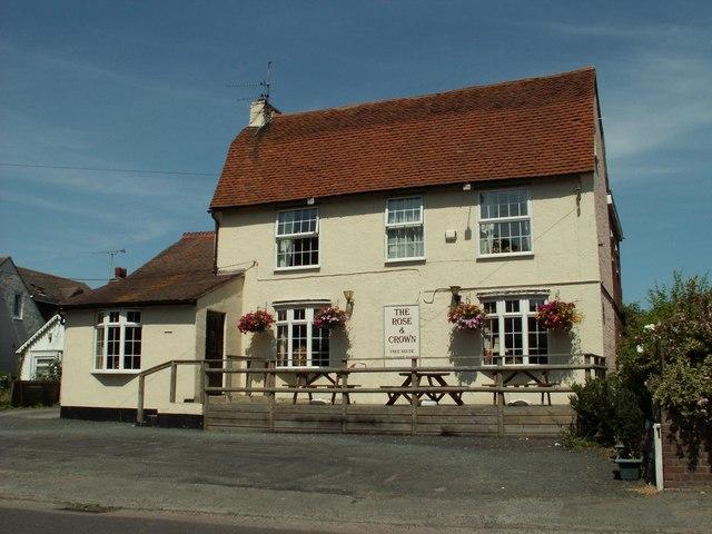 'The Rose & Crown' inn, Thorpe-le-Soken, Essex