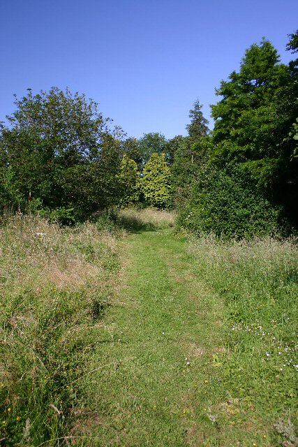Footpath to Brockley Green