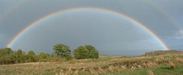 Rainbow at Barr Meadhonach