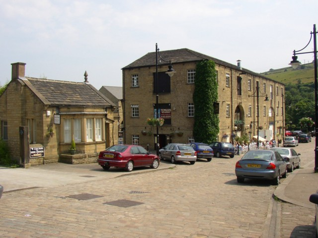 Weighbridge Office and No.2 Warehouse, Sowerby Bridge