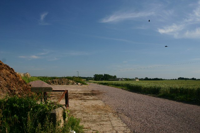 Driveway to Rowney Farm