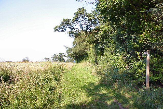 Footpath to Longs Farm