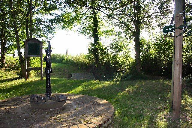 Footpath at Somerton