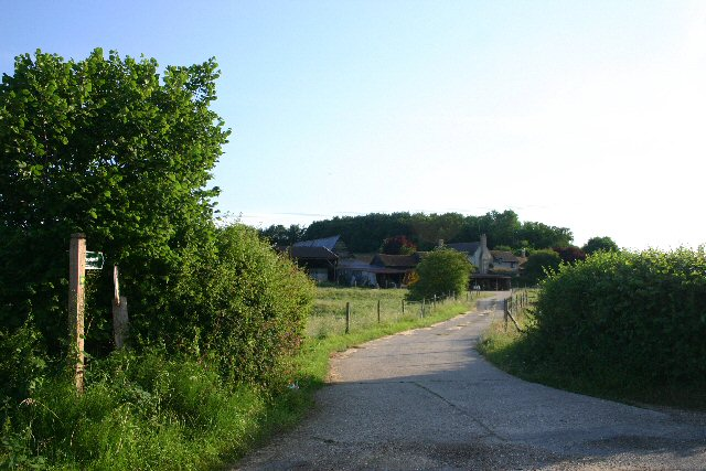 Footpath to Gallowgate Farm and Fenstead End