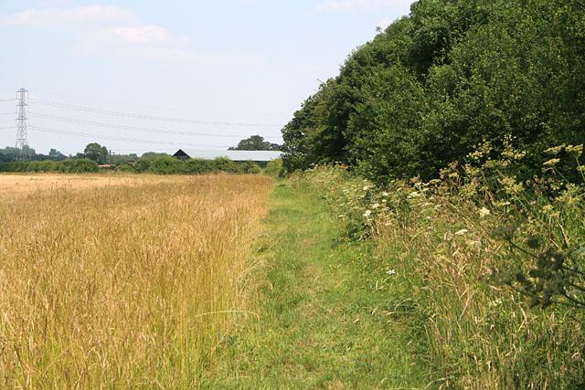 Public Footpath near Cotgrave, Nottinghamshire