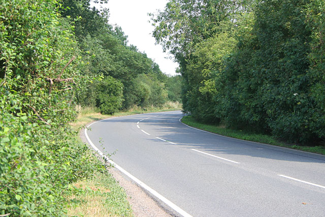 Country road near Cotgrave
