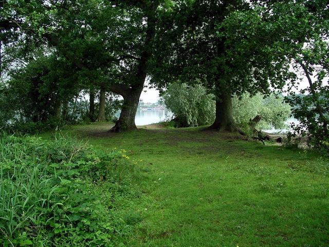 On the island, Castle Loch