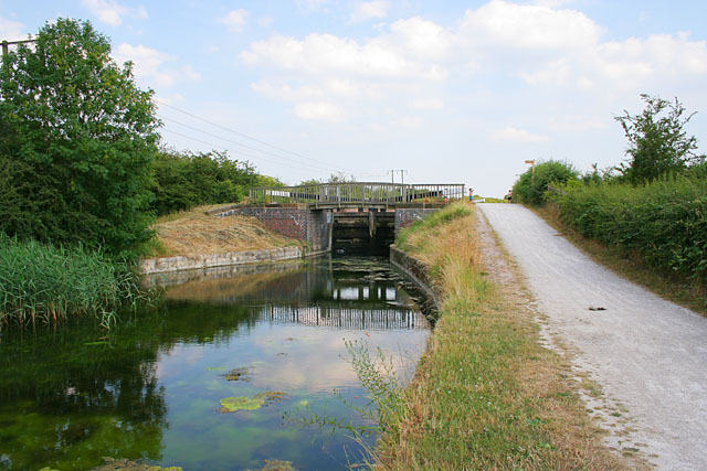 Lock 6 on the Grantham Canal