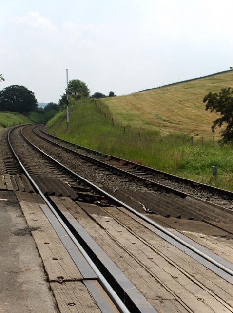 Railway near Armathwaite