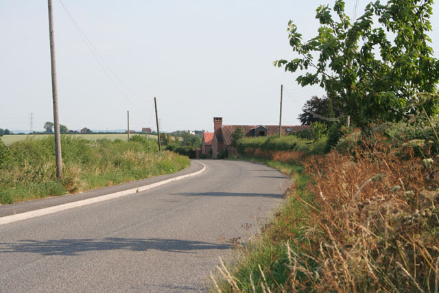 Cropwell Bishop Road near Cropwell Butler