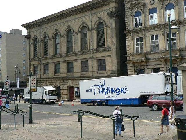 Rear of St George's Hall, Drake Street, Bradford