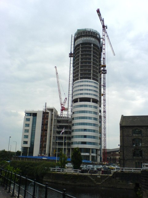 Bridgewater Place nears completion.