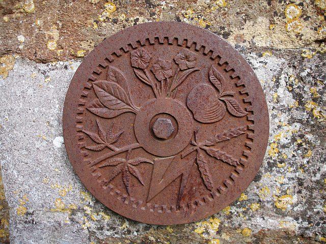 Decorative plaque, Parrett Works