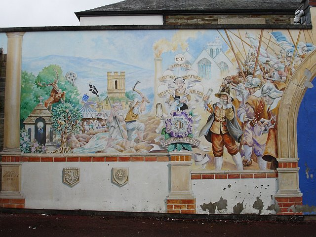 Mural in Liskeard