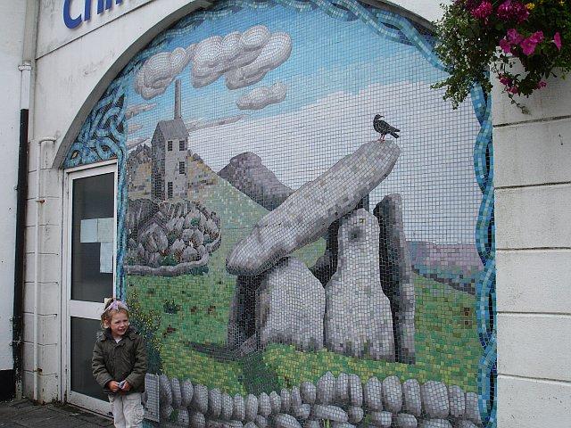 Mosaic mural in Liskeard