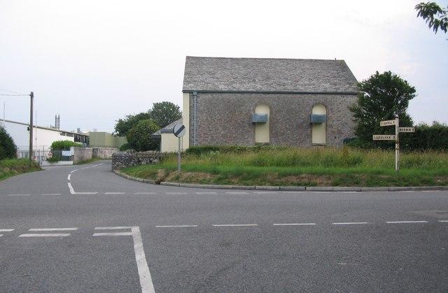 Crossroads near Bodwen