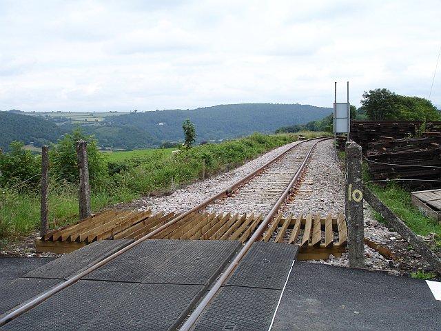 Sandway Crossing, Tamar Valley Railway