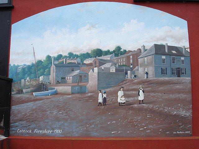 Mural, Calstock