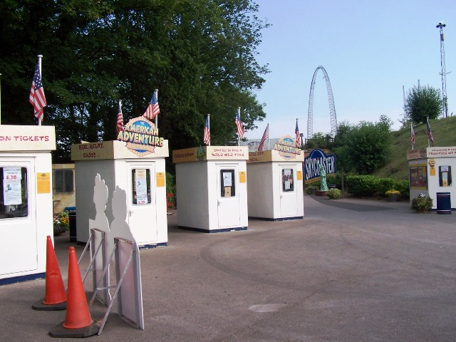 American Adventure Ticket Booths
