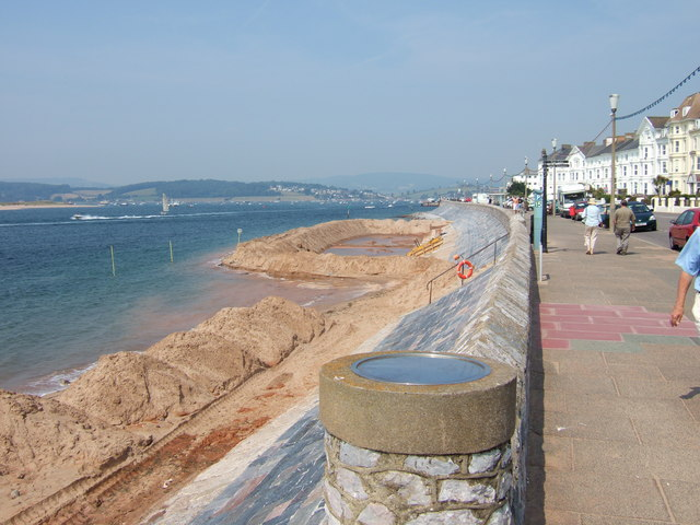 Sea front, Exmouth.