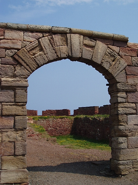 Entrance to Dunbar Battery
