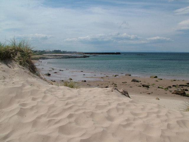 Dunes at Hopeman East Beach