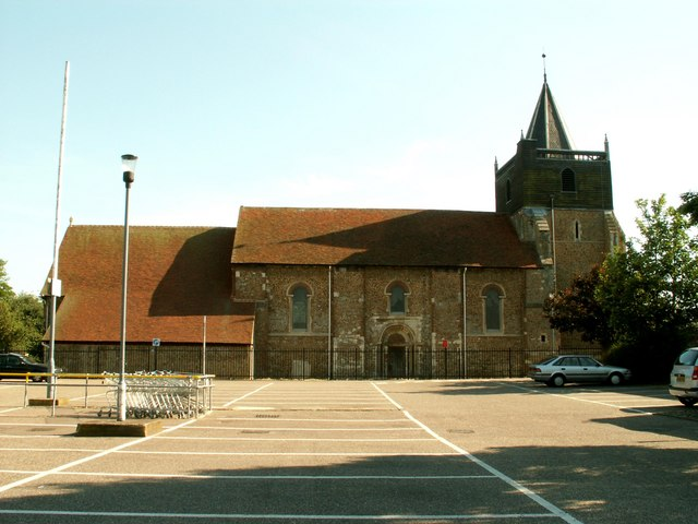 St. John the Baptist church, Great Clacton, Essex