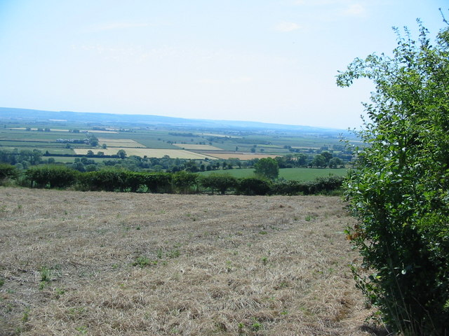 Looking across Ebberston Ings to the Yorkshire Wolds