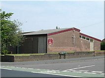 SJ8752 : Church of the Saviour, Chell Heath by Steve Lewin