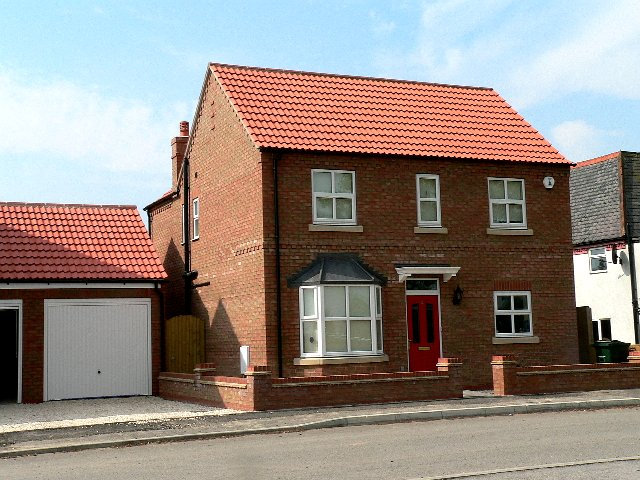 New House on Oxen Lane, Cliffe