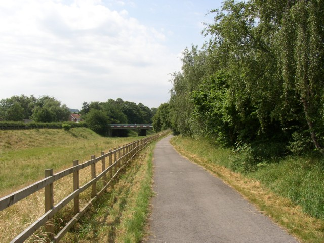 The Calder Valley Greenway, Dewsbury