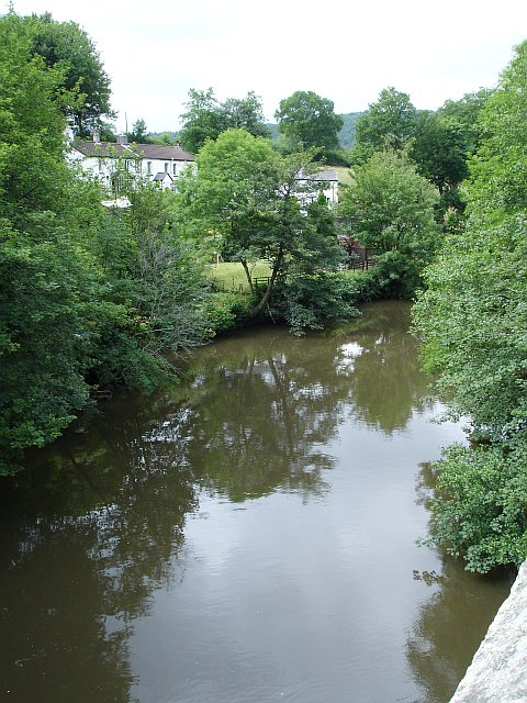 River Tamar from New Bridge, Gunnislake