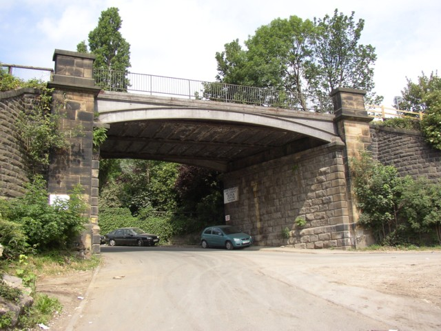 Railway Bridge, Watergate Road, off Huddersfield Road, Dewsbury