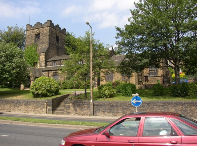 Former church, Huddersfield Road, Dewsbury