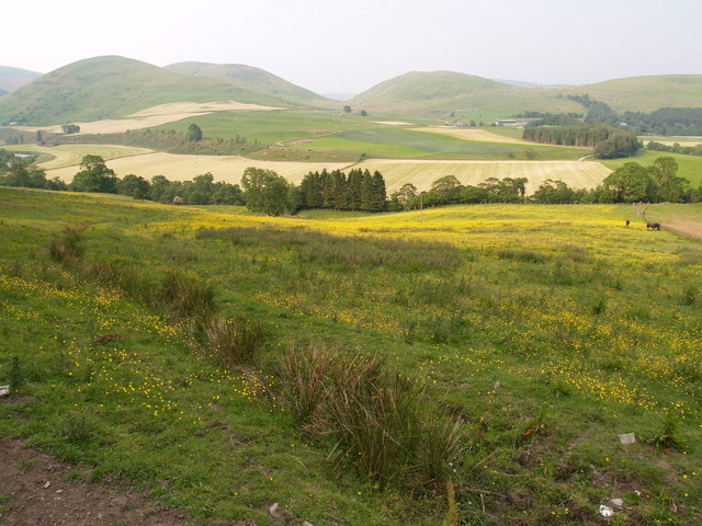Esk Valley north of Langholm