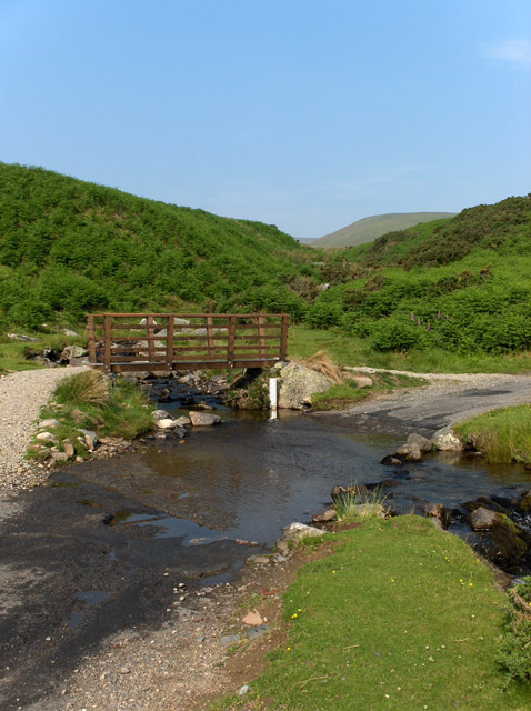 Ford through Carrock Beck