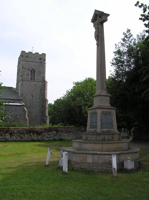 Catfield church and war memorial