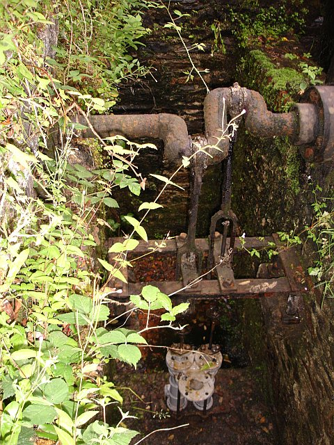 Water pump at Morwellham