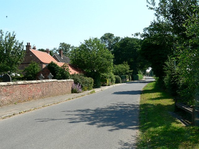 The Street leading from Skipwith to Little Skipwith