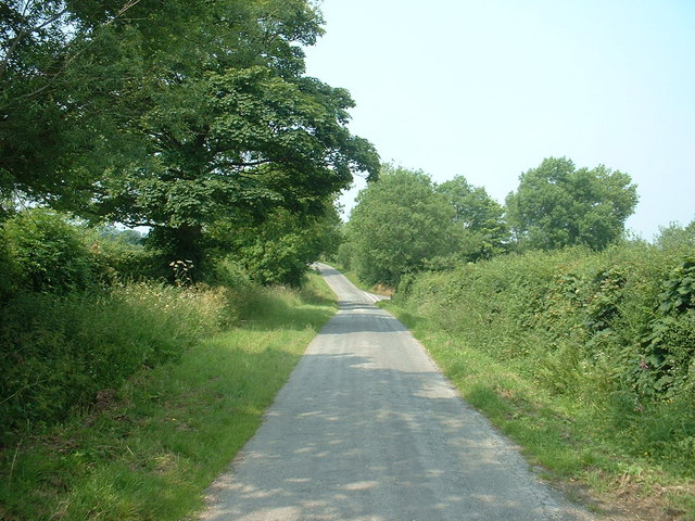 Road, at Nercwys Mountain