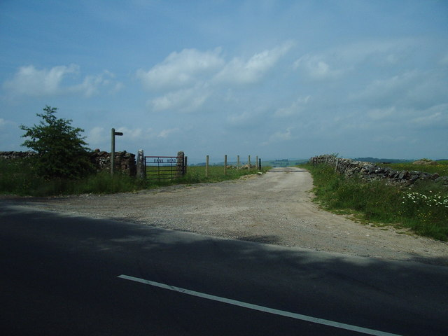The entrance to Bank Head Farm