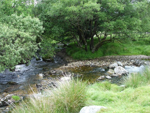 Cowsic River joins the West Dart