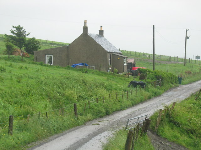 High Ballevain cottage.