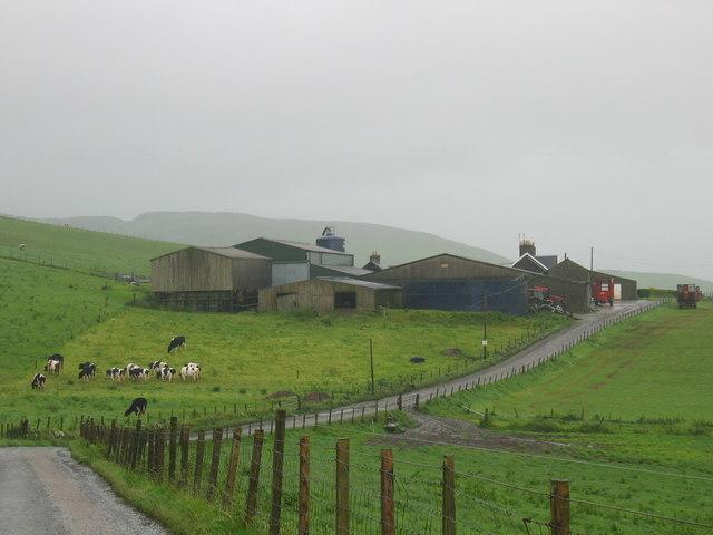 High Ballevain farm.