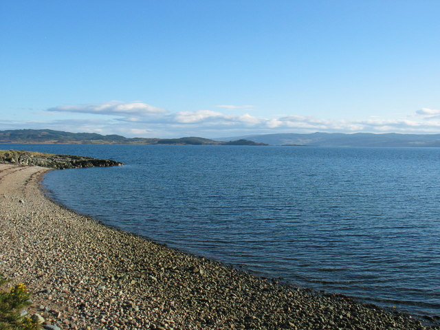 Small bay called The Hole by Inverneill.