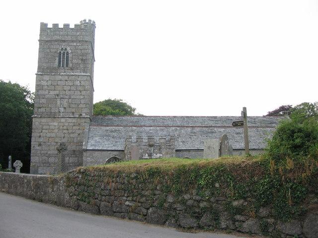 Luxulyan church