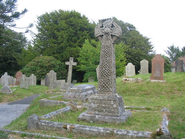 Luxulyan churchyard